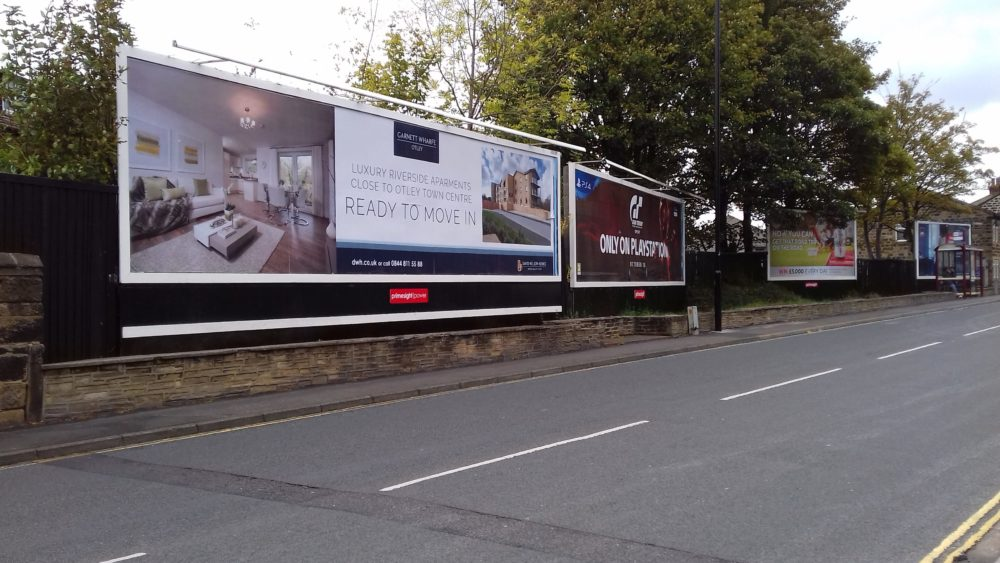 David Wilson Homes 2 x 96 sheets in Otley 2
