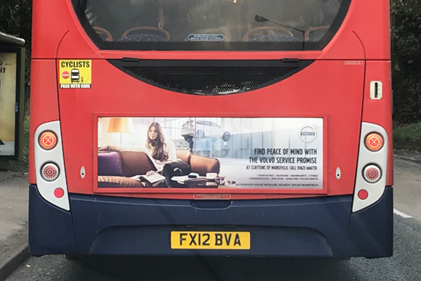 bus advertising mansfield