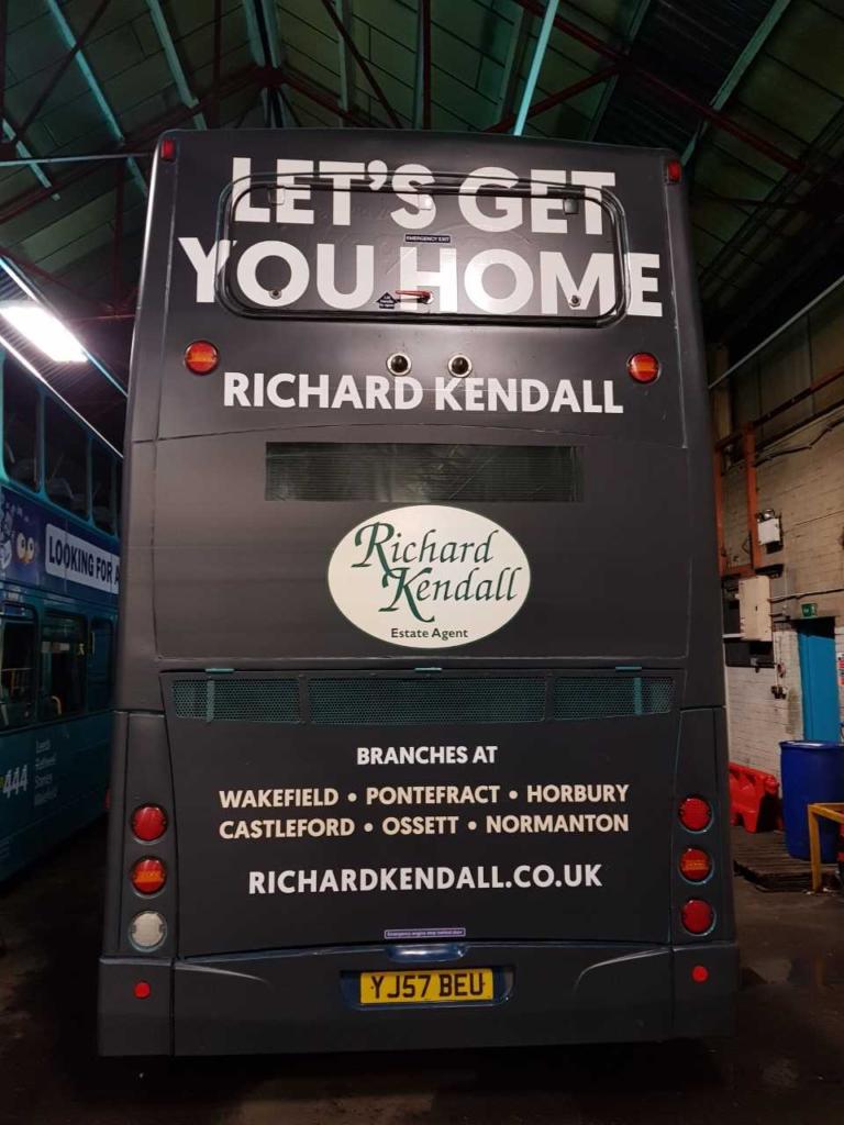 bus advertising in bradford