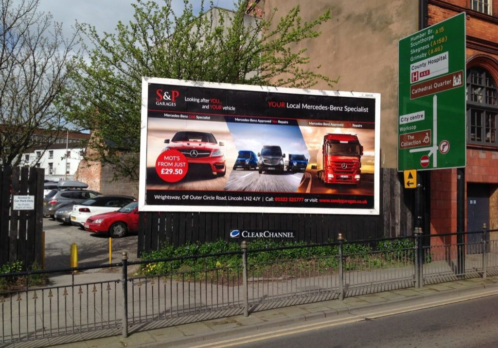 S & P Garages billboard image 4